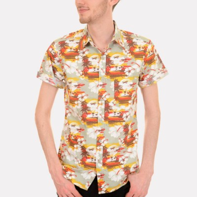 Camisa sunset retro