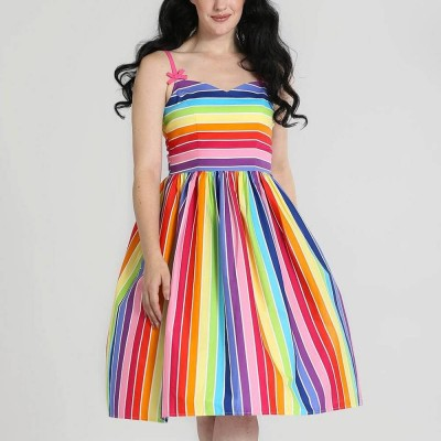 Vestido Swing Over the Rainbow