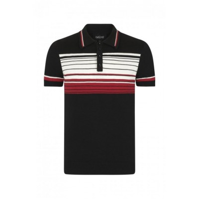 Peru Striped Polo Shirt