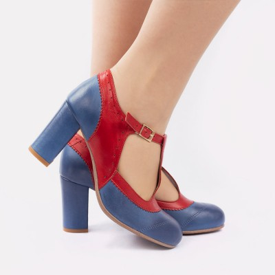 Ada blue and red