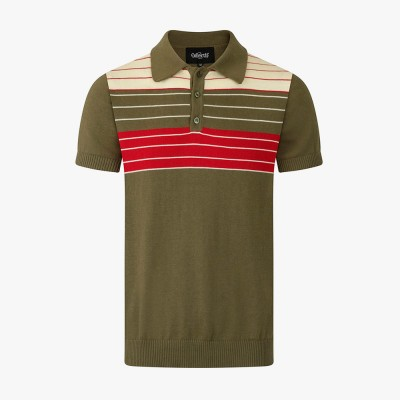 Pablo Sutton Knitted Polo Shirt