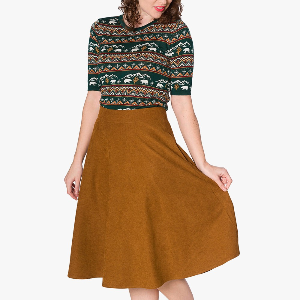 Sophiecated Lady Swing Skirt
