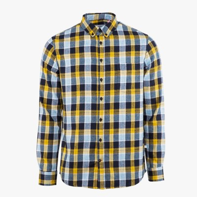 Johan Pocket Flannel Check