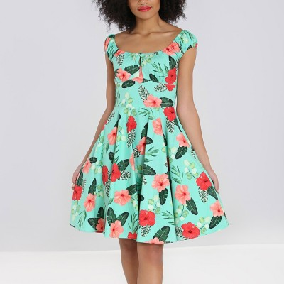 Moana Mid Dress Mint