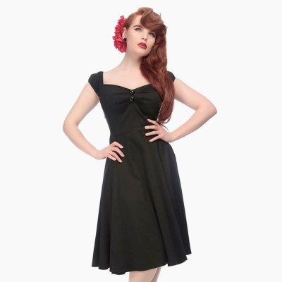 Dolores Doll Classic Cotton in schwarz
