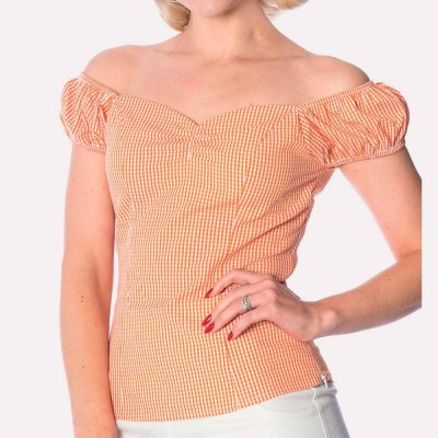 Top Prairie lady en naranja
